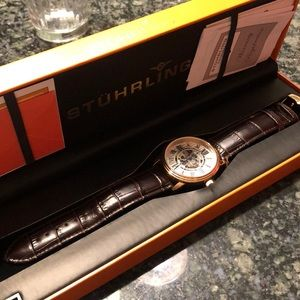 Like new men's STUHRLING watch